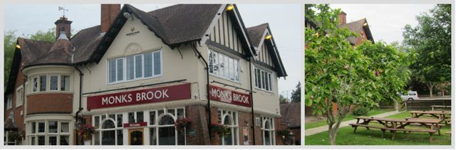 Monk's Brook, on Hursley Road SO53. In 1898, it was The Railway Hotel.