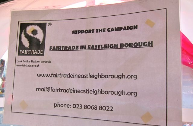 Fairtrade in Eastleigh Borough
