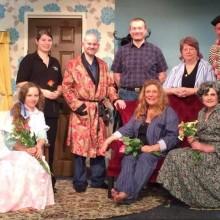 Nightingale Cast with Jenni Prior, Director, Chris Greenwood UKIP & Jean Roberts-Jones One Community