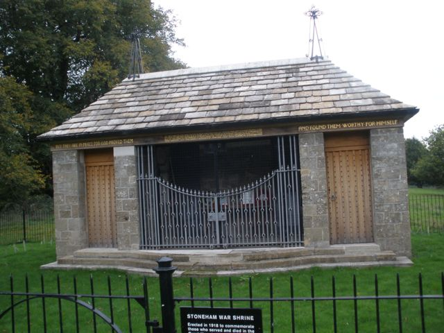 Stoneham War Shrine in Eastleigh