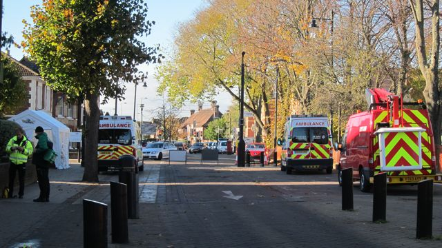 St. John Ambulances in Eastleigh today