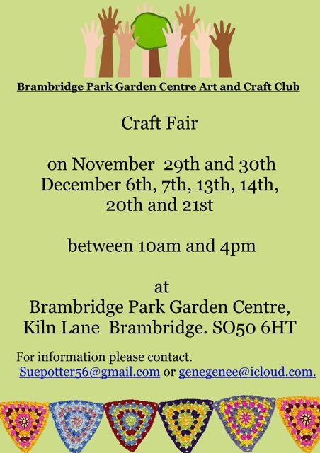 Brambridge Park Craft Fair