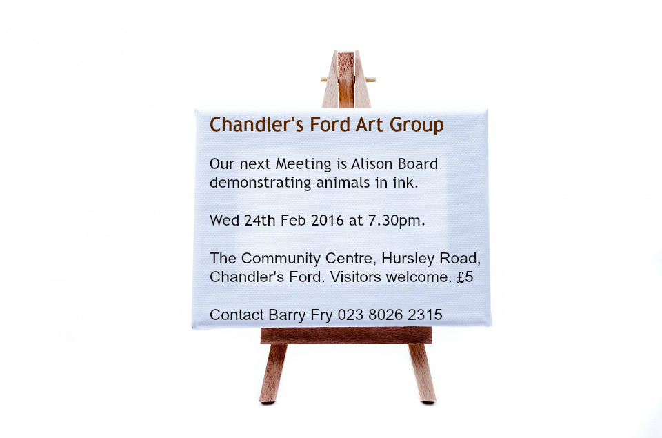 Chandler's Ford Art Group Feb 2016