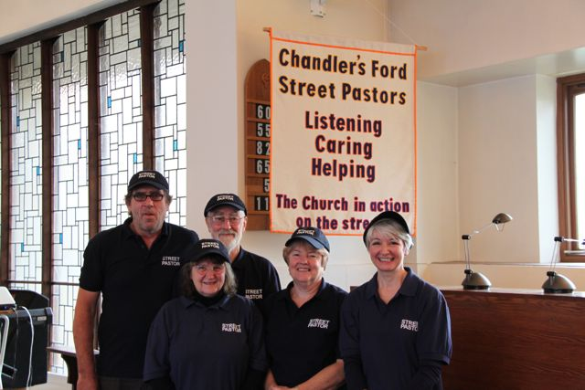 New street pastors of Chandler's Ford.