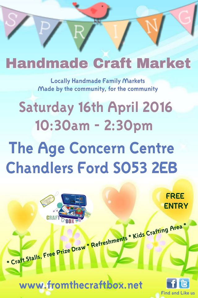 Craft Fair Chandler's Ford Age Concern 16 April 2016