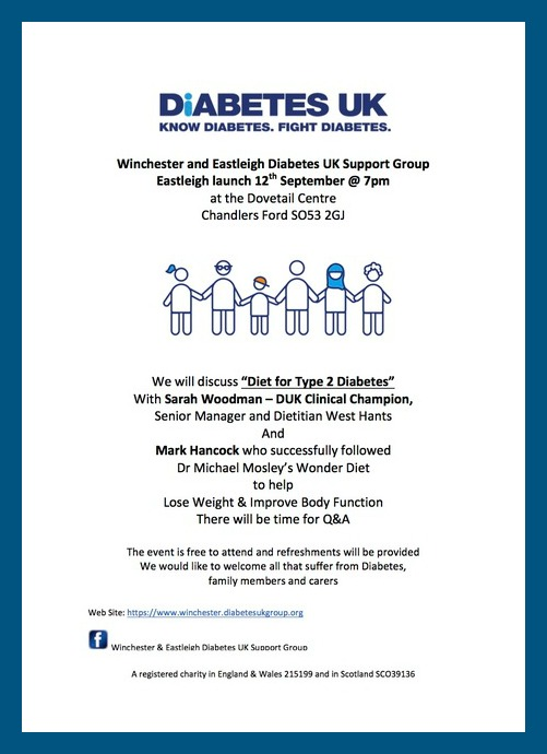 Winchester and Eastleigh Diabetes UK Support Group