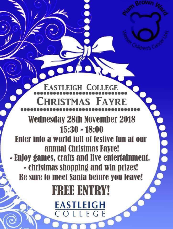 Eastleigh College Christmas Fayr