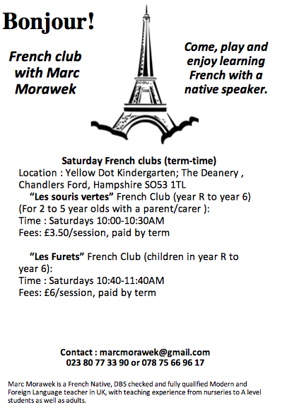 French clubs in Chandler's Ford