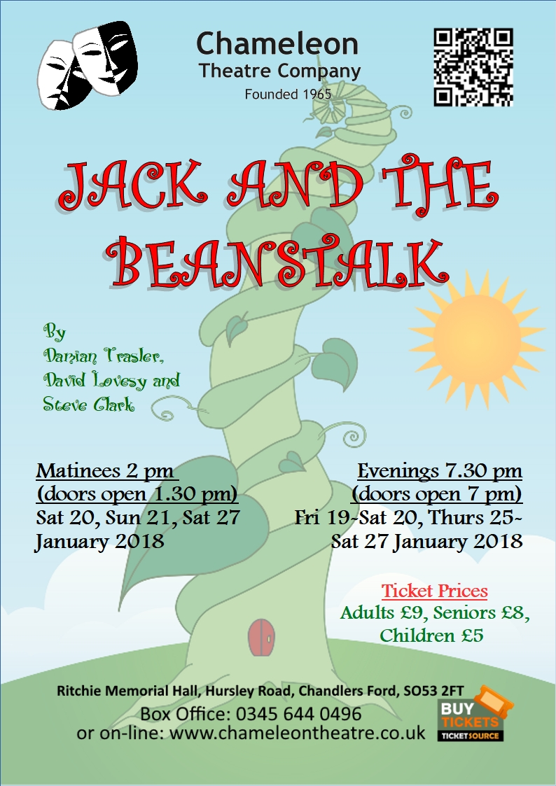 Jack and the Beanstalk - Chameleon Theatre Company, January 2018