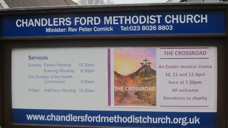 Easter Music Drama at Chandler's Ford Methodist Church.