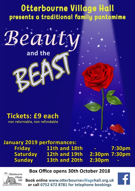 Beauty and the Beast - Otterbourne pantomine