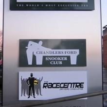 Chandler's Ford Central Precinct and Ahmad Tea.