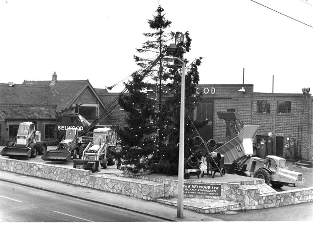Selwood's magnificent Christmas trees: 1960s  (Image credit: Selwood)