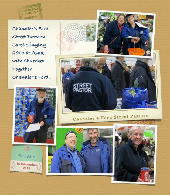 Chandler's Ford Street Pastors: friendly and helpful.