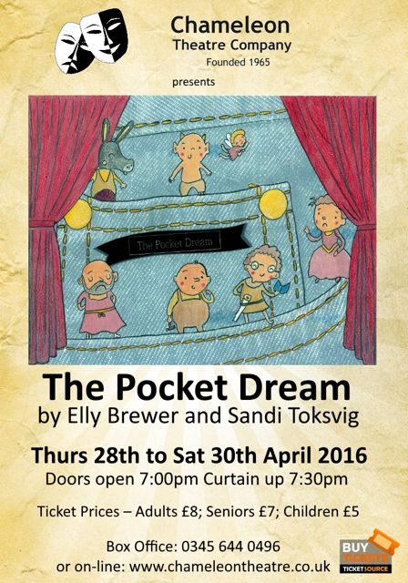 The Pocket Dreams Chameleons Chandler's Ford April 2016