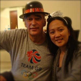 Alex and Mae met in Dubai in 2012.