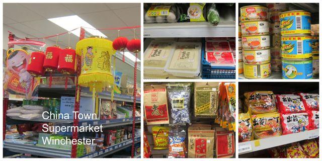 China Town oriental supermarket, Winchester.
