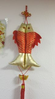Fish - Symbol of abundance and fortune.