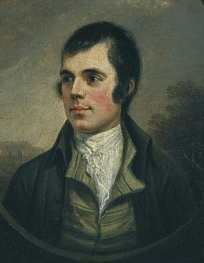 Roberts Burns. Image by Scottish National Portrait Gallery via Wikipedia.