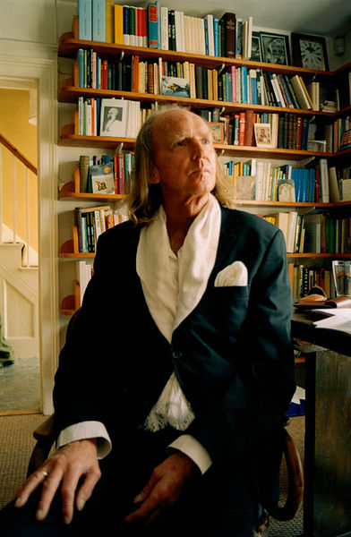Sir John Tavener features in Word Made Flesh: By Devlin crow (Own work) [CC-BY-SA-3.0 (http://creativecommons.org/licenses/by-sa/3.0)], via Wikimedia Commons
