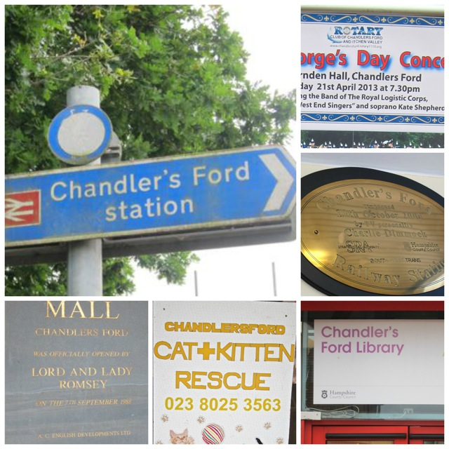 Chandler's Ford, Chandlers Ford, Chandlersford?