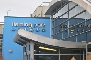 Fleming Park Leisure Centre, Eastleigh.