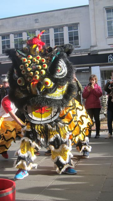 Previous Chinese New Year celebration in Southampton.