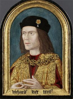 The earliest surviving portrait of Richard III - image via Wikipedia.