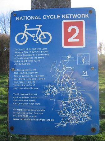 National Cycle Network - image by Gregory Williams via Flickr.