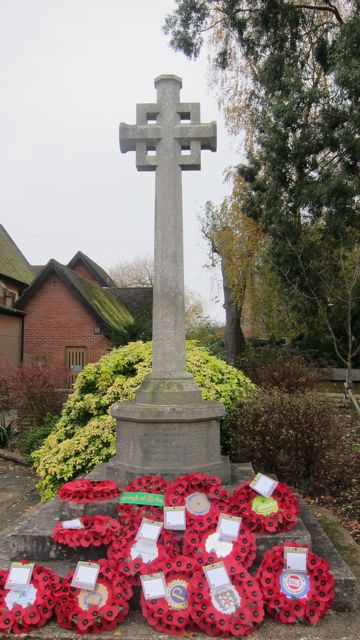 Chandler's Ford War Memorial - St. Boniface Church, Hursley Road.