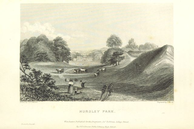 Hursley Park by British Library.