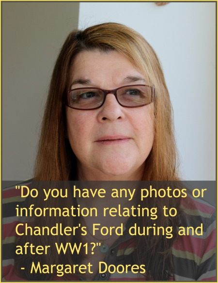 Margaret Doores: Researcher on Chandler's Ford War Memorial.