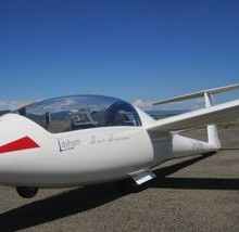 Our glider at Santa Cilia