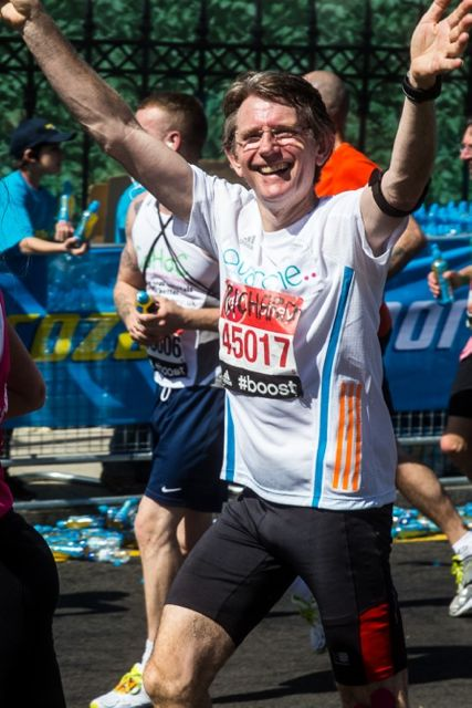 "Richard Stock's marathon success for <a href=""http://www.ovacome.org.uk/"">Ovacome</a>."