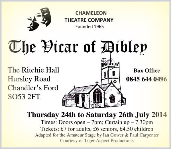 The Vicar of Dibley by the Chameleons