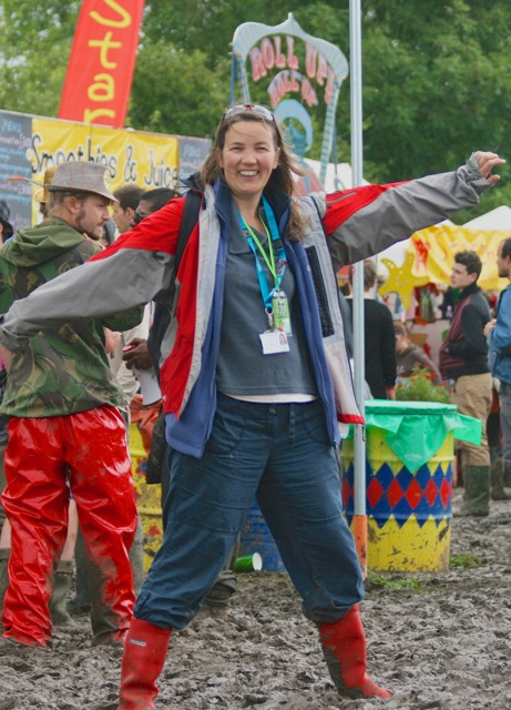 Dr Lisa-Jayne Clark from Chandler's Ford died of ovarian cancer aged just 40. In her wishes Lisa asked for donations to go to Ovacome, the ovarian cancer support charity. Lisa at Glastonbury where she was a lead clinician for Festival Medical Services.