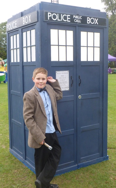 Josh is a Doctor Who fan.