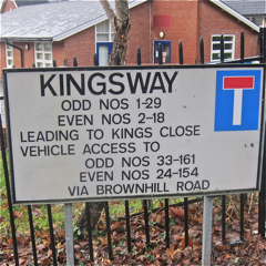 Kingsway, Chandler's Ford.
