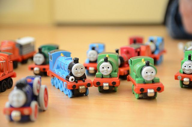 Where did the inspiration for Thomas the Tank Engine come from? Chandler's Ford? Image by Alpha via Flickr.