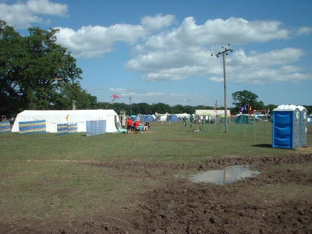 Proper camp site.