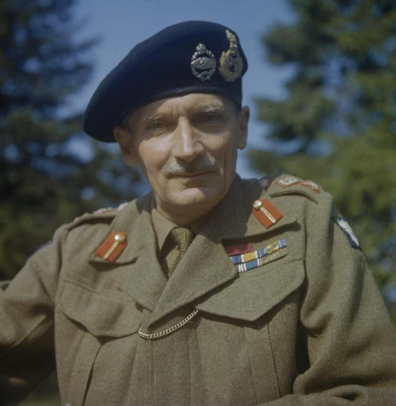 Commander of the Eighth Army General Sir Bernard Montgomery © IWM (TR 1037)