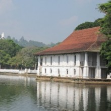 Bathing House Kandy Lake feature