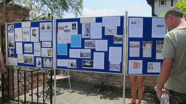 The Pirbright Historians displayed local history.