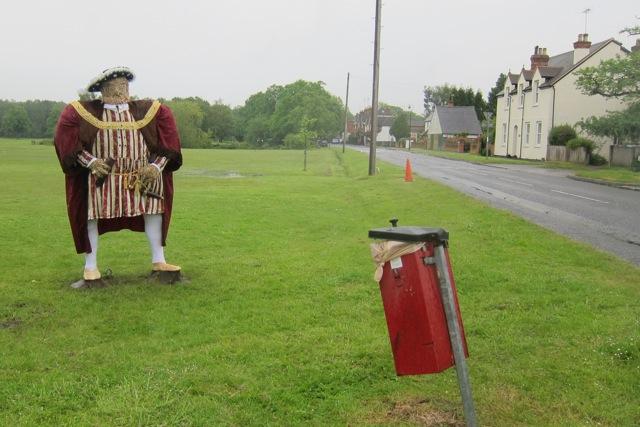 Henry VIII in Pirbright Green.