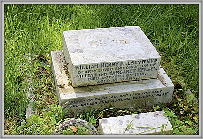 Ordinary Seaman William Henry Kelsey, (ZA/9431) RN Deport (Crystal Palace) Royal Naval Volunteer Reserve.