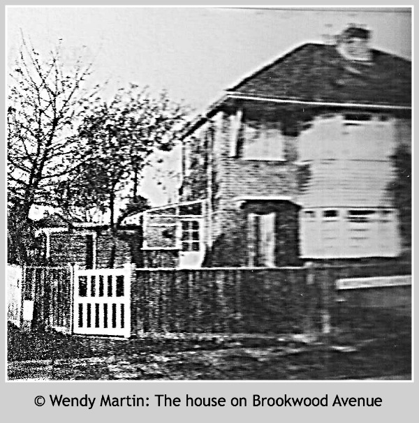 © Wendy Martin - The house on Brookwood Avenue