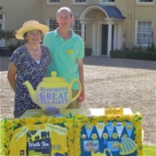 Marie Curie tea party feature