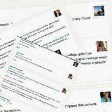 WordPress gravatars