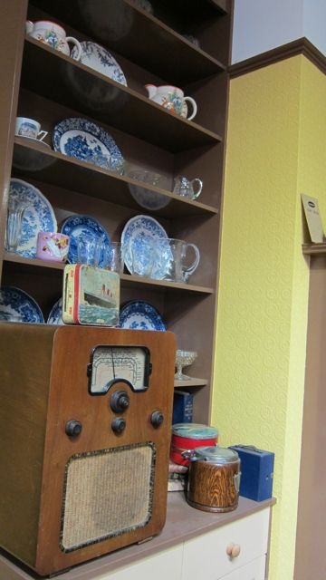 Radio was the most precious item for Mr and Mrs Brown, in Eastleigh Museum.