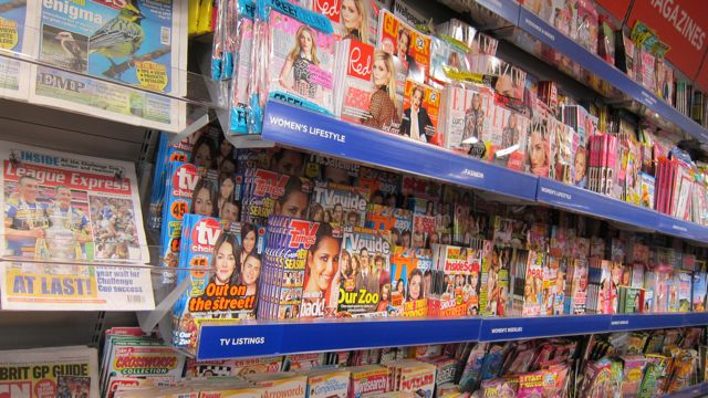 WH Smith arrived at Fryern Arcade, Chandler's Ford. A fantastic selection of magazines.